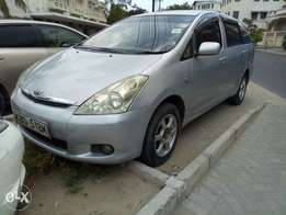 Toyota wish seven seater