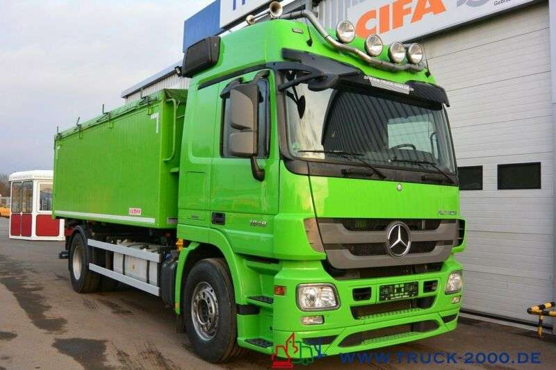 Mercedes-Benz Actros 1848 22m³ Alu Kempf Getreide Retarder 1.h - 2013