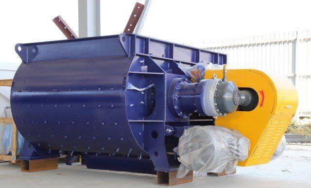 Dvuhvalnyy betonosmesitel bp-2G-3000 concrete mixer