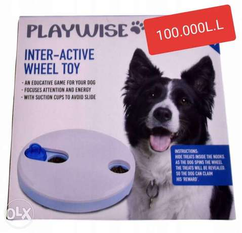 DOG wheel toy **100.000L.L**