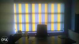 Office blinds and curtains