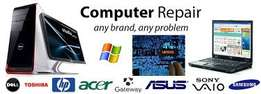 Computers and laptops repairs and maintainance