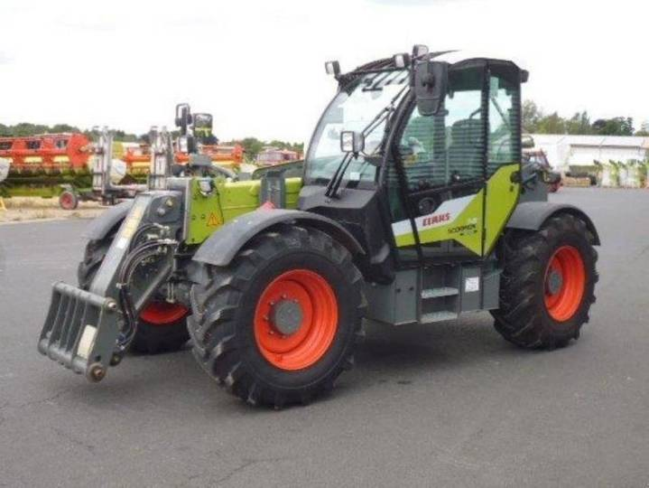Claas scorpion 741 - 2018