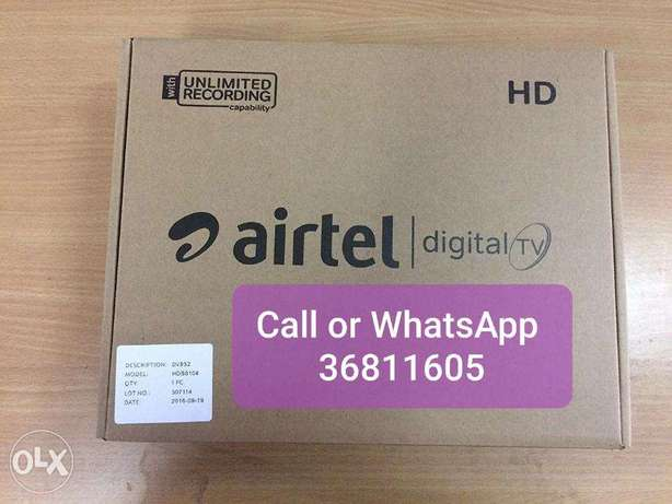 Full hd setaup box with recharge free home delivery