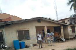 Half plot of Land on Alhaji Mustapha street, Ladipo, oshodi
