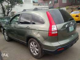 registered 2008 Honda crv