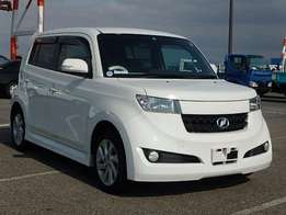Toyota bB just arrived on sale.