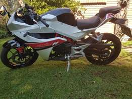 Hyosung GD250R Good as new! Only 977km on the clock!!!