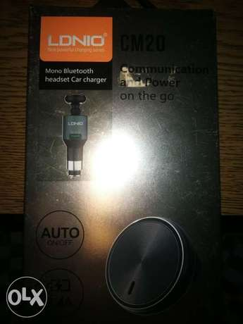 LDINIO Car Charger & Bluetooth Headset