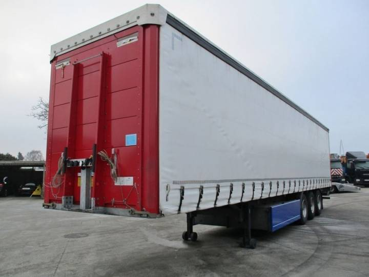 A & D / System Trailers (D) Tautliner - 2016