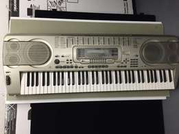 Master of all Casio WK-3200 portable keyboard