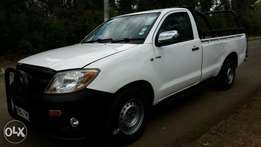 Toyota Hilux Pickup, single cab, 2010 local, 5 speed manual.