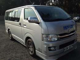Toyota HIACE, Year 2010, Petrol engine 2000cc, Clean silver