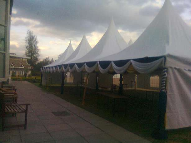 Tents,dressed chairs and tables and decor for hire Westlands - image 4