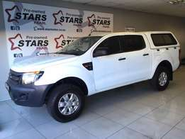 2012 Ford Ranger XL 2.2 Double Cab With a Canopy***