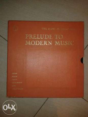 vinyl lps box prelude to modern music