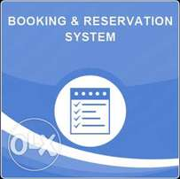 Online Booking Systems for buses, taxis and hotels. etc