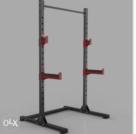 Squat frame with pull ups