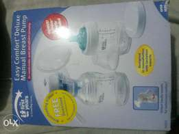 The First Years Easy Comfort Deluxe Manual Breast Pump