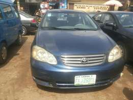 Registered 04 corolla for sale