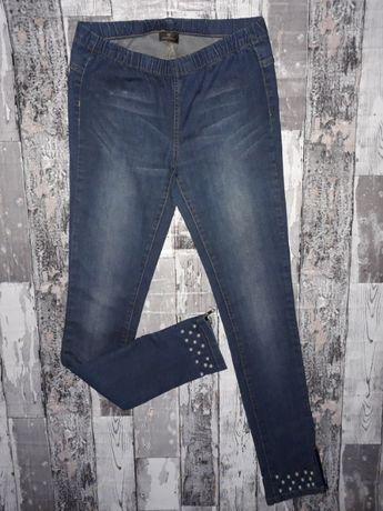 ac2bfad5 Pieces spodnie z perełkami i zamkami Gliwice Sośnica • OLX.pl