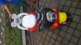 Faily used kids motor bike.