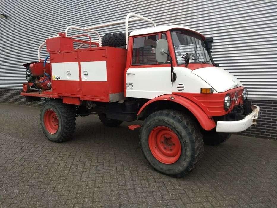 Unimog 416 416 brandweer snelle assen 125 pk - 1976 - image 7