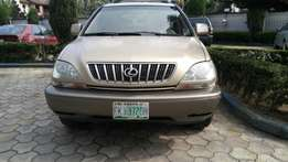 Few Months Neatly Used First Body 2002 model Lexus RX 300 for sale