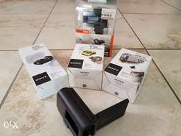 Sony Action Cam Accessories Bundle Sealed in boxes