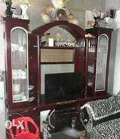 wall unit and wooden coffetable 4 sale