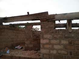 4 Blocks of 1Bedroom Flat For Sale Plus 3 stores Almost Roofing Level