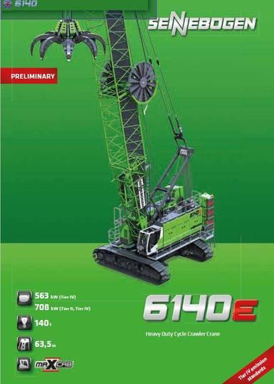 Sennebogen 6140 Hd E Series - 2019