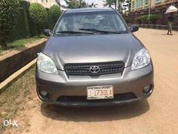 Super Clean Toyota Matrix 2006 available for just N1.990m