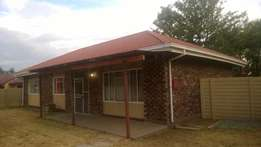 Flamingo Park house to rent in welkom.