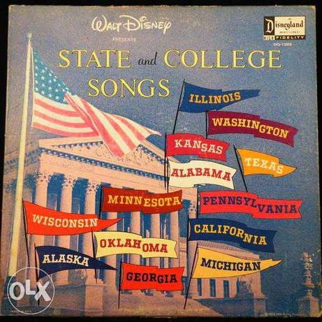 disney state and college songs
