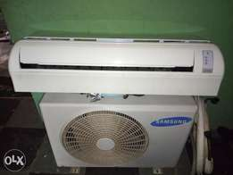 Samsung 1hp AC almost new