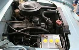 opel caravan (engine and gear box)