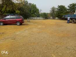 For sale, commercial land 3,000 square meters in Wuse zone 7 Abuja.
