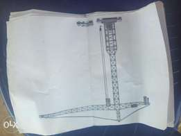 Tower Crane 250,000 metric tonnes for sale N120m