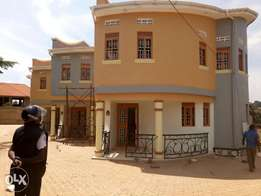 A four bedroom duplex for rent in Najjera