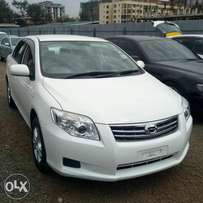Toyota Axio KCP 2010 fully-loaded with rare camera, alloy rims DVD CD