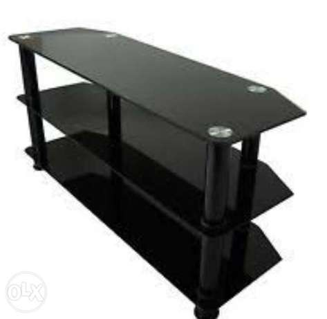 Brand new tv stand black in color for sale at 4000k negotiable Mtwapa - image 2