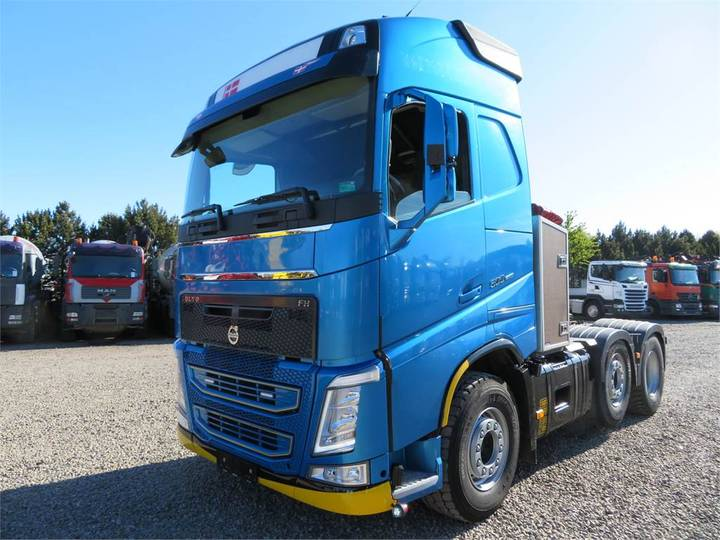 Volvo Fh500 6x2-2 Hydr. Globetrotter Euro 5 - 2014