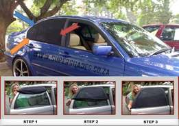 Baby Car Window Shades. Allows you to open the Windows