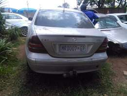 Mercedes-Benz C270 stripping for spares