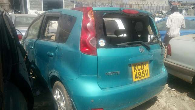 Salvage Nissan note Industrial Area - image 7