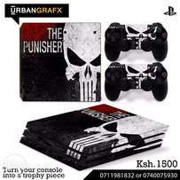 PS4, pro, slim, Xbox Skins! High quality with installation