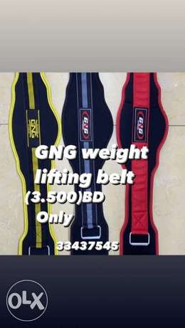 GNG weight lifting belt (3.500)BD only good quality best price