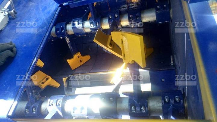 ZZBO Twin-shaft Mixer, Skip Bp-2g-375s /двухвальный Б/с - 2019