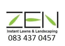 Why you should consider ZEN LAWNS to expertly install your new LAWN
